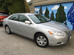2007 Toyota Camry-ONLY 54,000 km