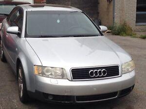Audi A4 2002 1.8 !!!! A vendre ou échange !!!!Negociable!!