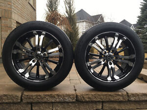 Summer Tires and Rims P205/55R16