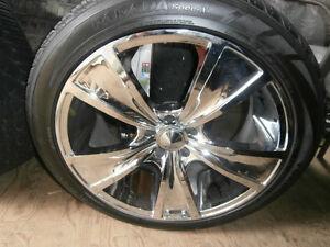 pneu neuf et mag 20 pouce