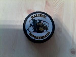 Halifax Mooseheads puck