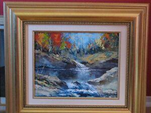 peinture huile 11 X 14 michel pleau