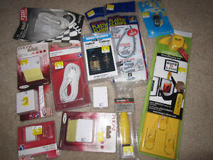 LOT 1 featuring Hang & Level Kit, Padlock, etc. - all new, boxed