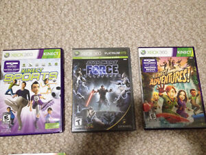 XBOX 360 KINECT WITH GAMES AND CONTROLLER Cambridge Kitchener Area image 4