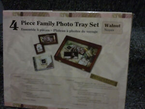 Brand new in box Family memories gift set photo tray album