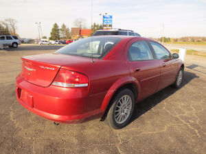 2004 Chrysler Sebring LXi Sedan London Ontario image 2
