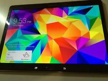AS NEW Samsung Galaxy Tab S 10.5 16GB WIFI+4G BROWN/GOLD T805Y Victoria Park Victoria Park Area Preview