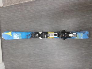 Atomic jr skis & boots