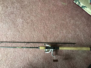 St Croix 10'6 trout rod with shimano Stradic  reel