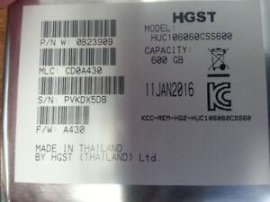 disque dur 2.5 Hitachi 600GB SAS 10000RPM neuf scellee brand new