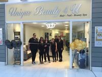 Beautician ,nail technician and hair stylist for Tower bridge and Romford area