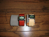 PAIR OF NEW ROOTS FUSION WATCHES