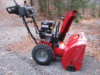 30'' craftsman 12.5 ft. lb dual stage snowblower / new /reduced