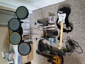 PS3 Rockband Set. Comes with Everything