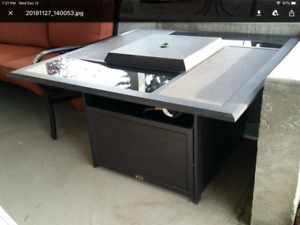 4 ft. Sq. Propane Fire Table $ 399.00