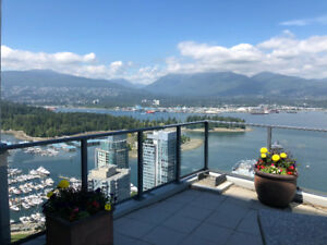 $2500 / 1br - 710ft2 - Gorgeous Coal Harbour 1 Bed + Flex + WIC