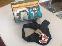 Professional belt-mounted DSLR holster system
