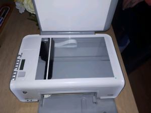 HP Printer With All Cords