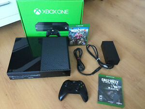Xbox One 500gig - Farcry 4 - Call of Duty: Ghosts - 280$