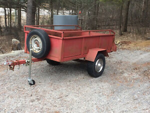 4x8 trailer Excelent for hauling wood etc.