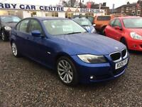 2009 BMW 3 SERIES 320d SE 4dr DIESEL FULL CREAM LEATHER