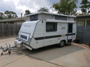 1998 windsor 15ft caravan