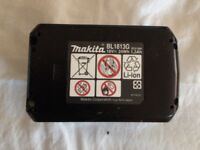 MAKITA 18V LITHIUM-ION BATTERY NEARLY LIKE NEW FOR SALE