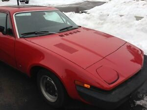 Collector Triumph 1975 TR7 well maintained