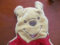 un winnie l'ourson mural pour décorer la chambre du bébé**