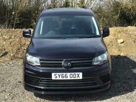 2016 Volkswagen Caddy 1.6 TDI 102PS Startline Van + REAR CARPETED + BLACK ALLOYS