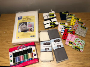 Sewing Material Starter Kit (Brand New)
