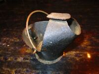 Mini Advertising coal skuttle ashtray