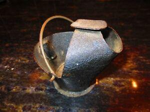Mini Advertising coal skuttle ashtray