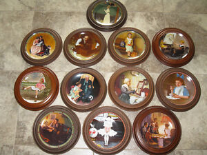 NORMAN ROCKWELL WALL PLATES