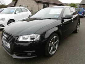 2011 Audi A3 2.0 TDI 170 Black Edition 5dr [Start Stop] 5 door Hatchback