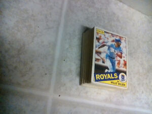 baseball and hockey cards