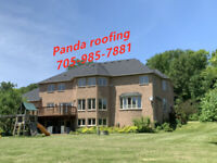 Panda Roofing-Roof/Eavestrough Replace-Please Call:705-985-7881