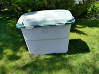 "Tote or Storage Container.  30"" Long x 16"" Deep x 27"" High"