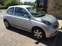 2006 Nissan Micra 1.2 taxed and tested