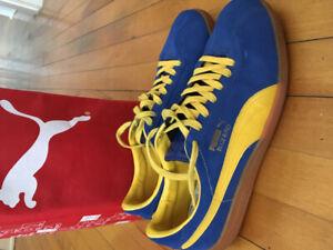 Puma Bluebirds size 11.5 1980s retro deadstock!