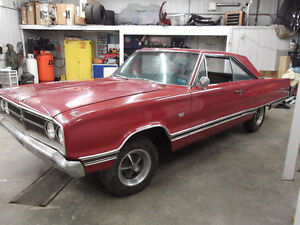 1967 CORONET 500, RUST FREE SOUTH CAROLINA  383 CAR