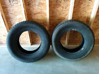 2 Nokian all-weather plus tires