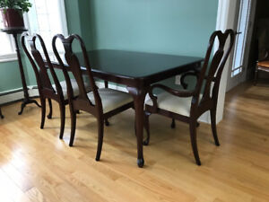 Gibbard Cdn Legacy Mahogany Rectangle Dining Set - Regal Chairs