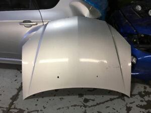 2005 Acura 1.7 EL Silver Hood