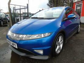 2007 Honda Civic 2.2 i CTDi Type S GT 3dr,Low mileage,FSH,2 keys,1 former kee...
