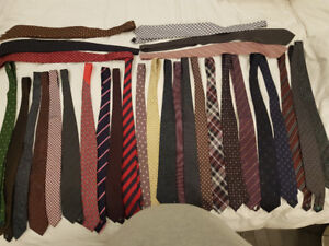 44R Executive Wardrobe (Suits, Coats, Ties)