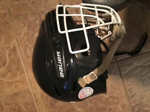 Casques hockey