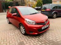 toyota yaris red manual 1.4 diesel d4d tr with navigation cheap runner