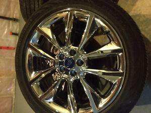 19 Inch Ford Rims+tires 235/45/19