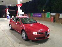 Alfa romeo 159 150bhp 1.9 diesel leathers alloys ac cruise control electric windows